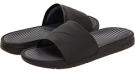 Black/Black-Dark Grey Nike Benassi Solarsoft Slide for Men (Size 8)