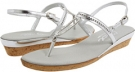 Silver Leather Onex Cabo for Women (Size 5)