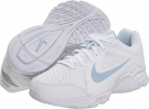 White/Pale Blue Nike View III for Women (Size 5.5)