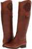 Tan Smooth Full Grain Frye Melissa Logo for Women (Size 7)
