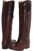 Bordeaux Smooth Full Grain Frye Melissa Logo for Women (Size 7)