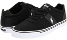 Polo Black Canvas/Mesh Polo Ralph Lauren Hanford for Men (Size 15)
