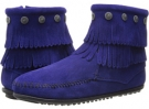 Double Fringe Side Zip Women's 9.5
