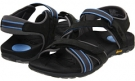 Dark Charcoal/Blue VIONIC with Orthaheel Technology Muir Vionic Sport Recovery Adjustable Sandal for Women (Size 11)