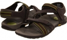 Chocolate/Green VIONIC with Orthaheel Technology Muir Vionic Sport Recovery Adjustable Sandal for Women (Size 11)
