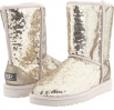 UGG Classic Short Sparkles Size 9