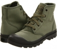 Otan/Army Green Palladium Pampa Hi for Women (Size 7)