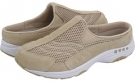 Light Natural Suede/White Easy Spirit Traveltime for Women (Size 12)