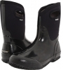 Black Shiny Bogs Classic Mid Handle for Women (Size 7)