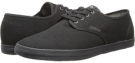 Black/Black Canvas Emerica The Wino for Men (Size 7)