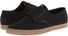 Black/Black/Gum Canvas Emerica The Wino for Men (Size 7)