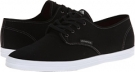 Black/White/Grey Cotton Twill Emerica The Wino for Men (Size 7)