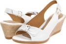 White Velvet Sheep Nappa Softspots Lebeau for Women (Size 7)