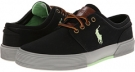 Polo Black/Hamption Lime/Grey Polo Ralph Lauren Faxon Low for Men (Size 9.5)