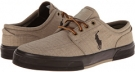 Tan/Dark Brown/Dark Brown Polo Ralph Lauren Faxon Low for Men (Size 9.5)