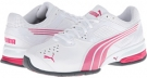 White/Fuchsia Purple PUMA Tazon 5 NM for Women (Size 7)