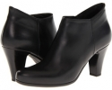 Black Leather La Canadienne Donovan for Women (Size 5)