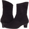 Black Suede Aravon Erica for Women (Size 7)