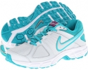 Pure Platinum/Metallic Silver-Bright Grape Nike Downshifter 5 for Women (Size 5.5)