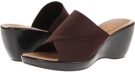 Chocolate Elastic Onex Deena for Women (Size 6)