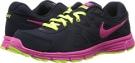Obsidian/Dark Obsidian/Volt/Pink Foil Nike Revolution 2 for Women (Size 5.5)