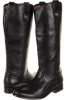 Melissa Button Boot Extended (Black Extended Women's 9.5