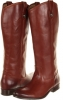 Frye Melissa Button Boot Extended (Cognac Extended Size 5.5