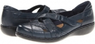 Navy Clarks England Ashland Rivers for Women (Size 5.5)