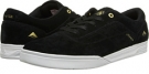 Black/White/Gold Emerica The Herman G6 for Men (Size 11.5)