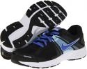 Black/Ice Blue/Metallic Silver/Violet Force Nike Dart 10 for Women (Size 5.5)