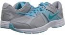 Wolf Grey/Polarized Blue/White/Turbo Green Nike Dart 10 for Women (Size 5.5)