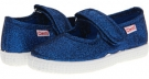 Blue Metallic Cienta Kids Shoes 56013 for Kids (Size 8)