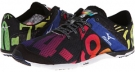 Black/White/Rainbow Mizuno Wave Universe 5 for Women (Size 7)
