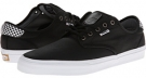Waxed Twill Black/Checkers Vans Chima Pro for Men (Size 11)