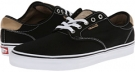 Black/Tan/White Vans Chima Pro for Men (Size 11)