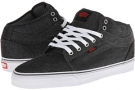 Chambray Black Vans Chukka Mid Top for Men (Size 8)