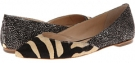Zebra/Feather Loeffler Randall Lou for Women (Size 10)