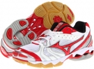 White/Red Mizuno Wave Bolt 2 for Women (Size 7)