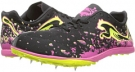 Black/Fuchsia Purple/Fluro Yellow PUMA Crossfox XCS Wn's for Women (Size 7)
