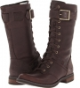 Dark Brown Forty Leather Timberland Earthkeepers Savin Hill Mid Boot for Women (Size 8)