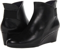 Black Nappa Leather Vaneli Lana for Women (Size 4.5)