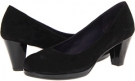 Black Suede/Black Patent Vaneli Laurice for Women (Size 4.5)