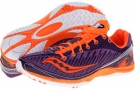 Purple/Vizipro Orange Saucony Kilkenny XC5 Flat W for Women (Size 7)