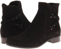 Black Suede La Canadienne Sharon for Women (Size 5)