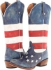 American Flag Snip Toe Women's 5.5