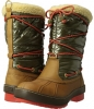 Highland (Sahara/Olive Nylon/Orange Women's 11