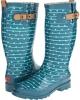 Striped Dot Rain Boot Women's 7
