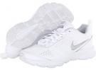 White/Pure Platinum/Black/Metallic Silver Nike T-Lite XI for Women (Size 5.5)