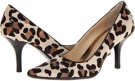 Bone/Ash/Black Calvin Klein Dolly Leopard Pony for Women (Size 5.5)