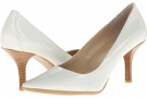 White Calvin Klein Dolly Patent for Women (Size 5.5)